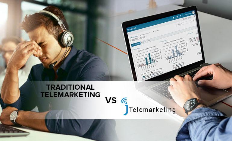 Conventional Telemarketing VS J Telemarketing